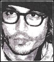 Johnny Depp - ink 2 by breadzilla