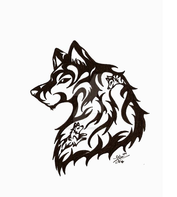 Wolf tatoo new by Ishtaryasha on DeviantArt