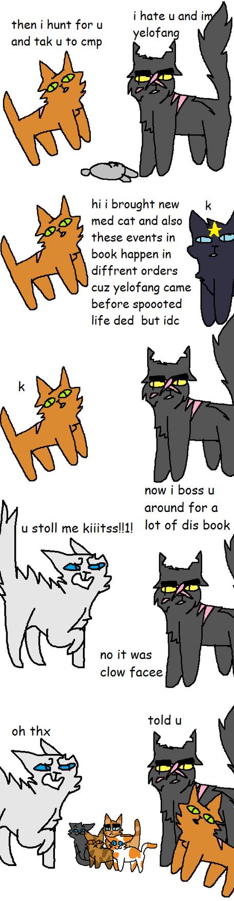 Warrior Cats In A Nutshell 5 by XxBirchTreexX