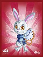 white rabbit by Akriel