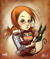 Dorothy and Chistery by Akriel