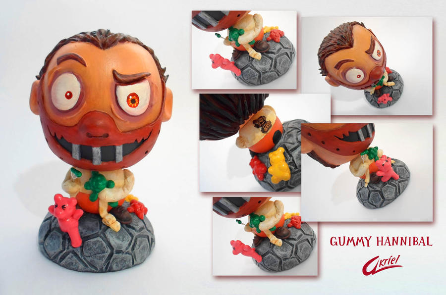 Wooden Toy Gummy Hannibal 2 by Akriel