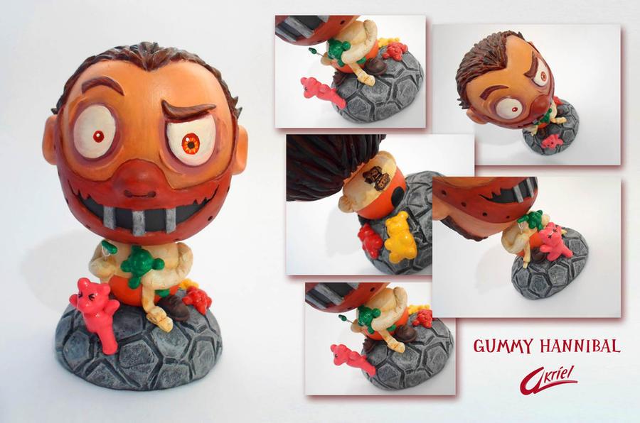 Wooden Toy Gummy Hannibal 2 by Akriel