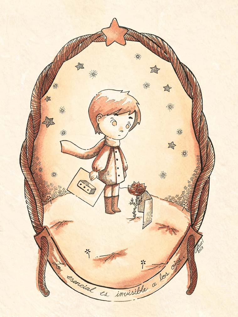 Le Petit Prince / the little prince by Akriel