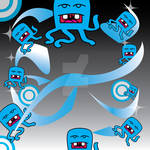 Octopus Twitter Background