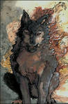 Wolf Flames