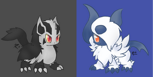 Chibi Dog Pokemon