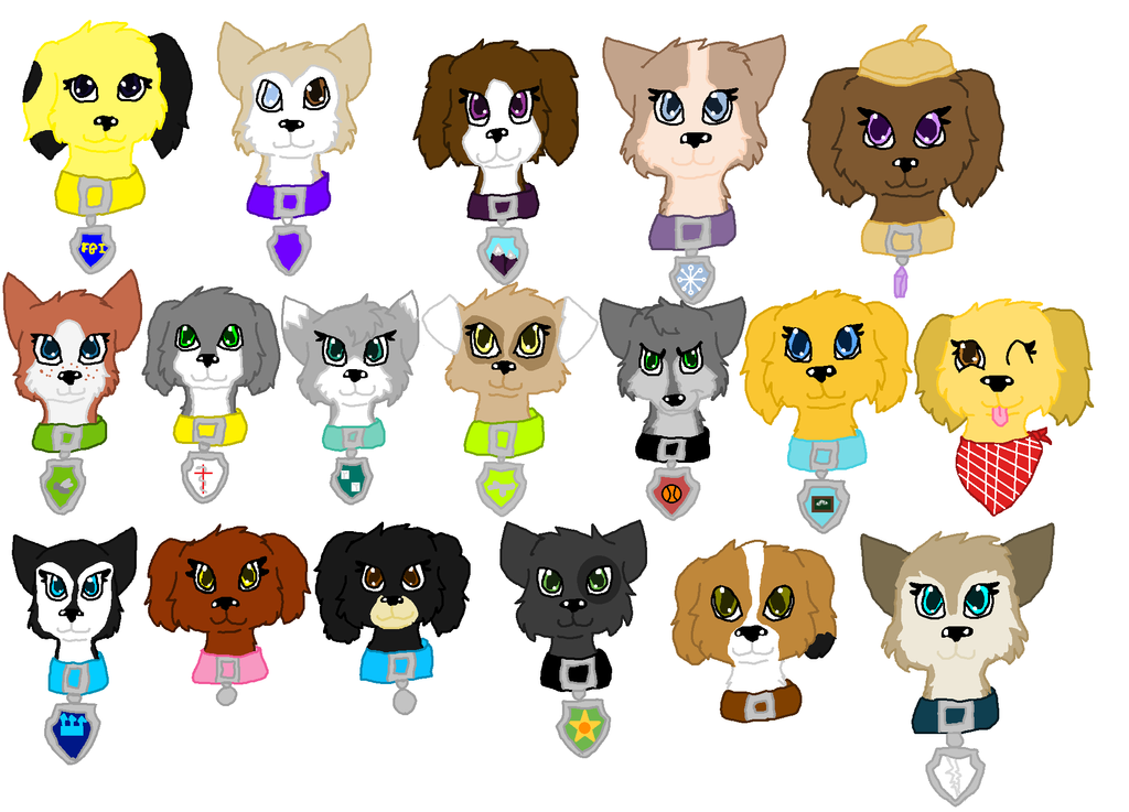 Paw Patrol Dog Breed Tracker