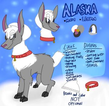 Alaska ref by Levatheshapeshifter