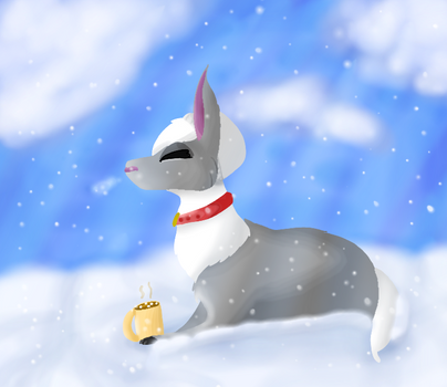 Snow day by Levatheshapeshifter