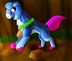 Burying the box by Levatheshapeshifter