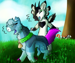 Bumping into you by Levatheshapeshifter