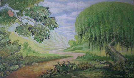 Pemandangan pohon