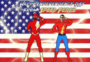 Happy 4th for Speed Force