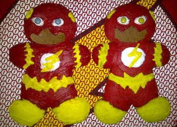 Gingerbread Flashes by FastestFanAlive