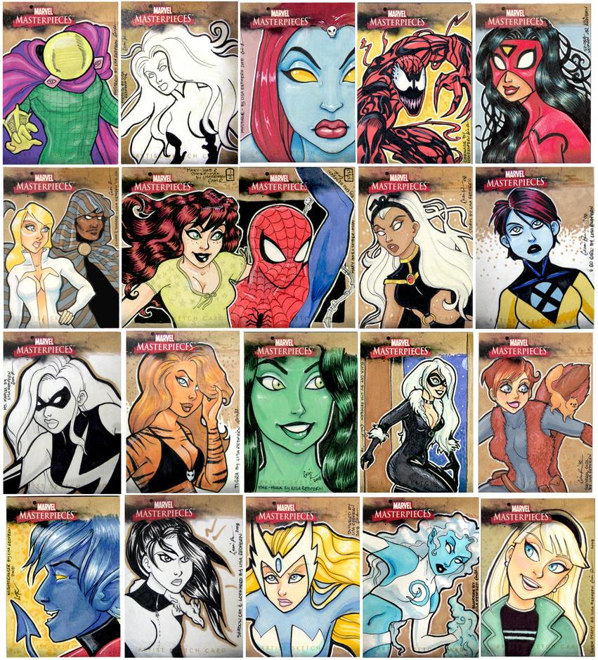 Lisa R Marvel Masterpieces II by taeha
