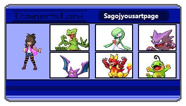 Sagojyousartpage Trainer Card by MeteoNinja