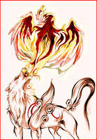 Okami - Breath of fire by Grypwolf