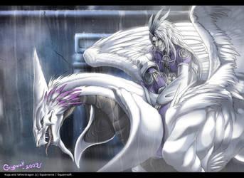 Kuja Leaving Burmecia by Grypwolf