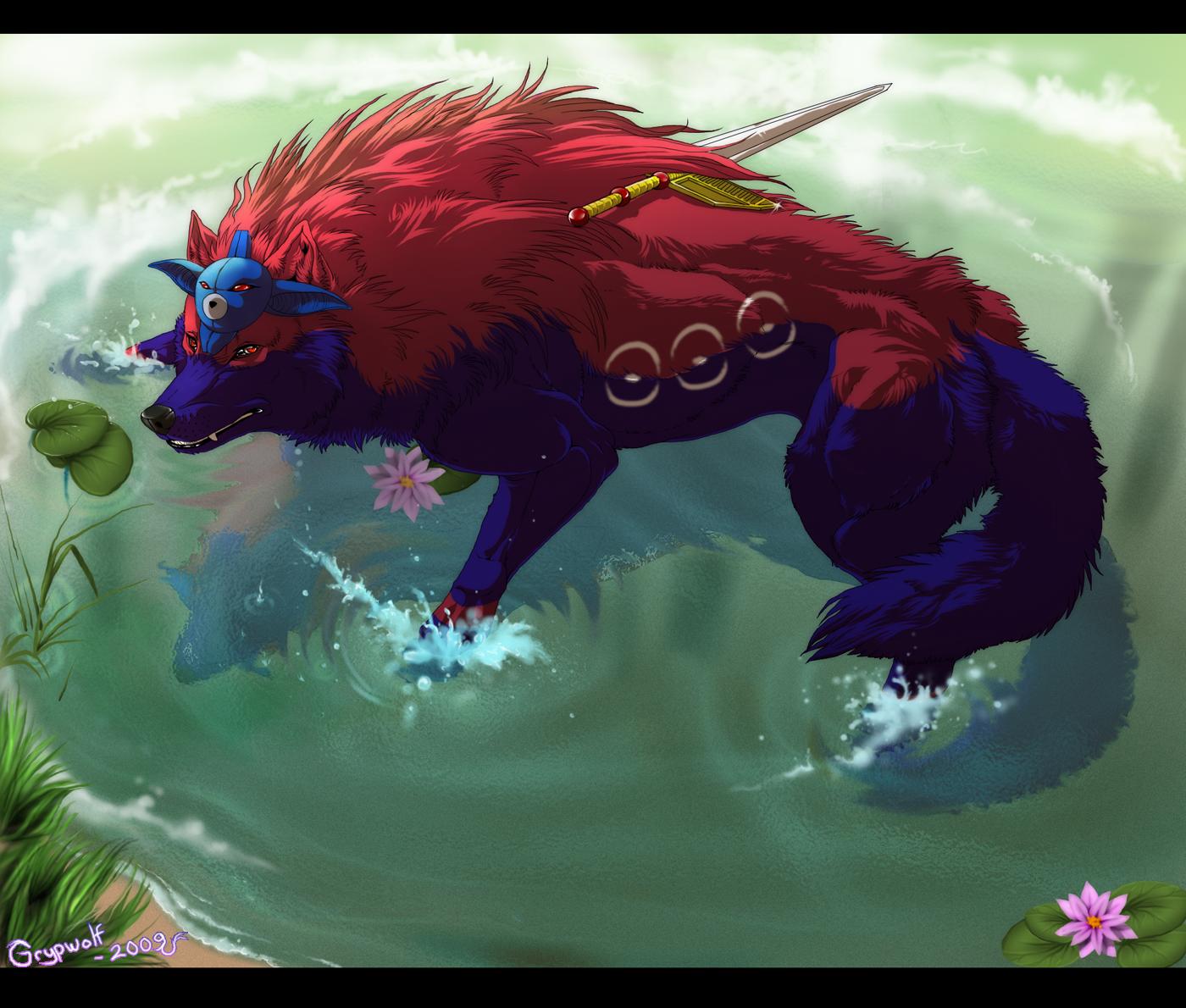 Okami - Swanheart by Grypwolf