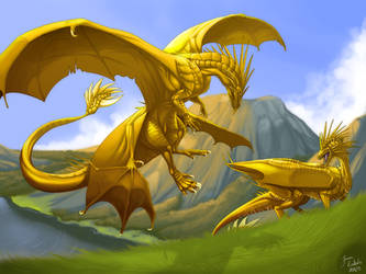 Nameless - Last golden days by Grypwolf