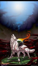 Okami - RISE ans SHINE by Grypwolf