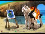 Okami - Trading Some Art