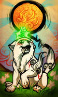 Okami - New Sun Rises by Grypwolf