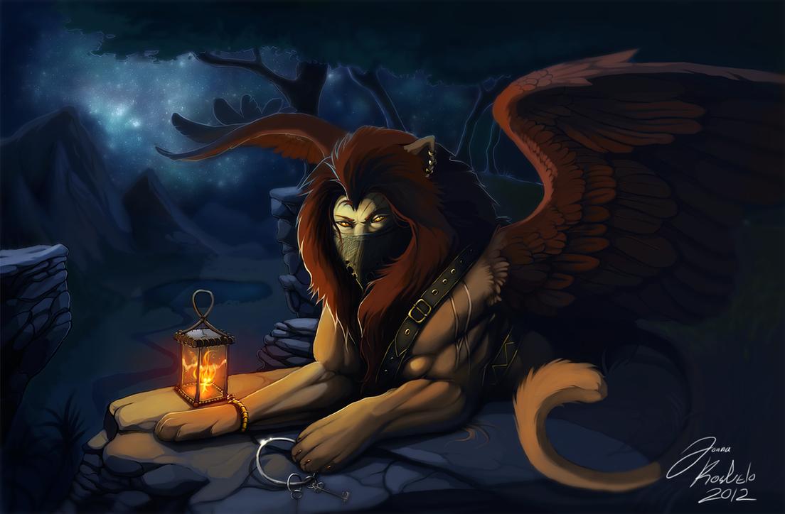 will-o'-the-wisp by Grypwolf