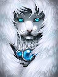 Wintry gaze by Grypwolf