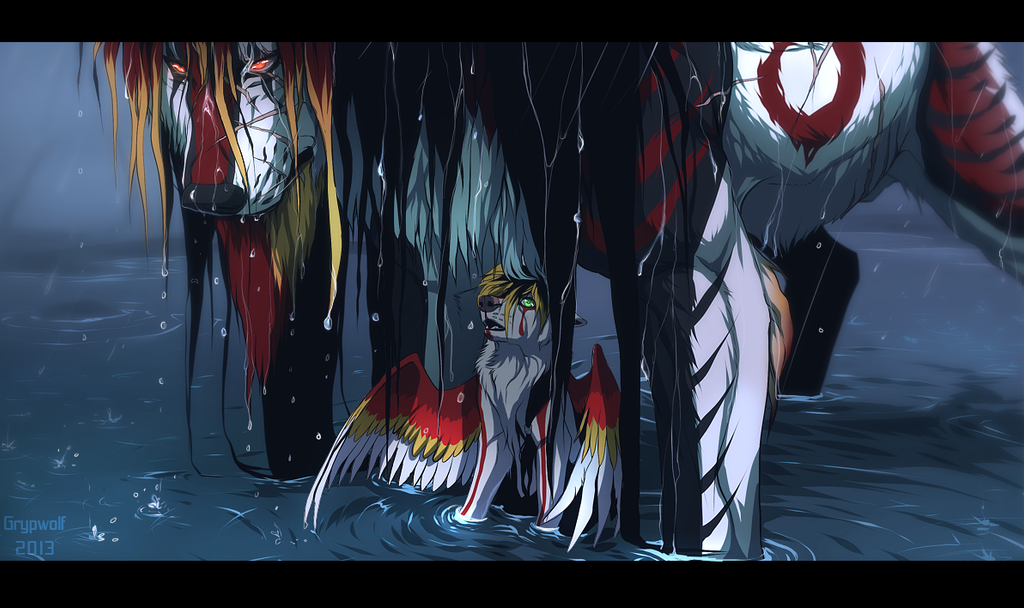 It's Only Rain by Grypwolf