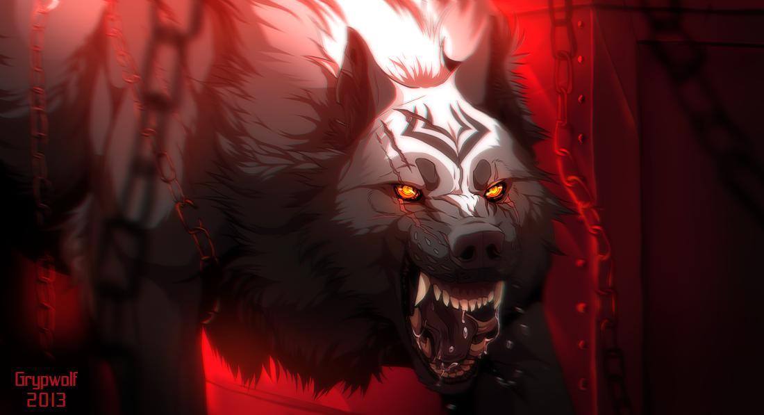 Fiery The Vengeance by Grypwolf