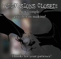 Commissions - New price list in making - CLOSED! by Grypwolf