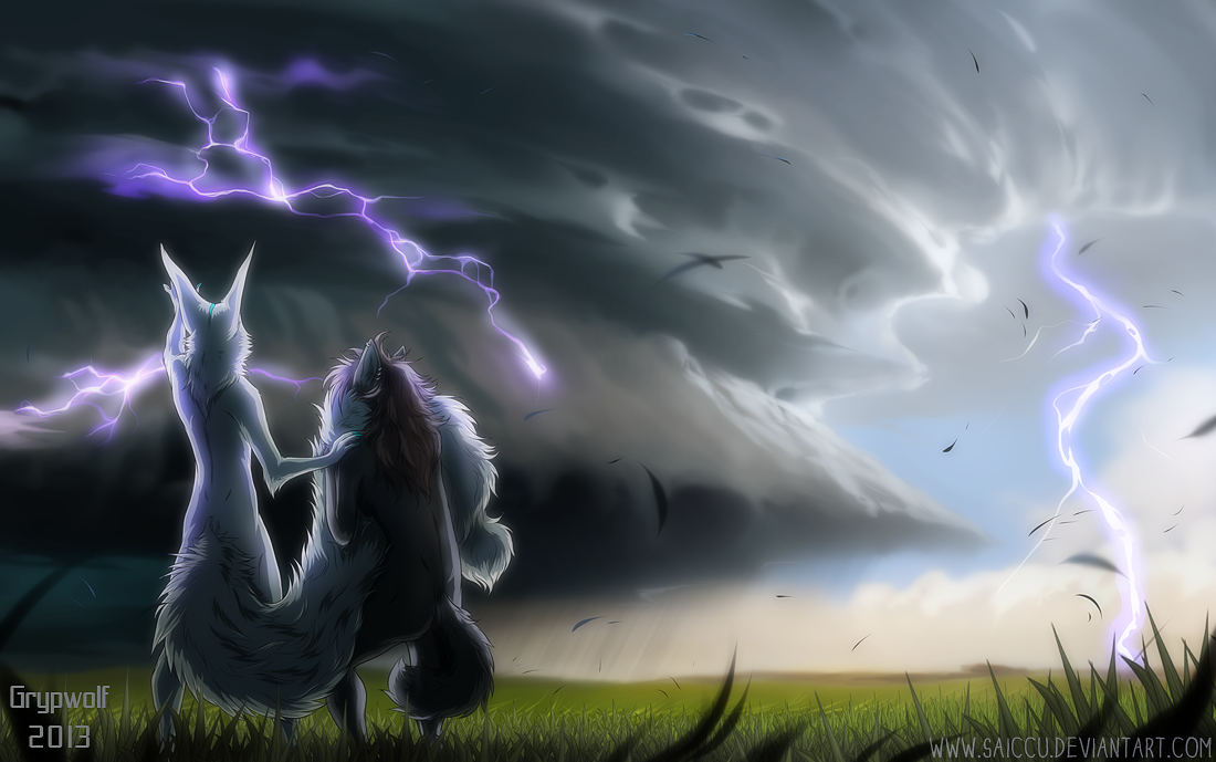 Collab - Stormchacers by Grypwolf