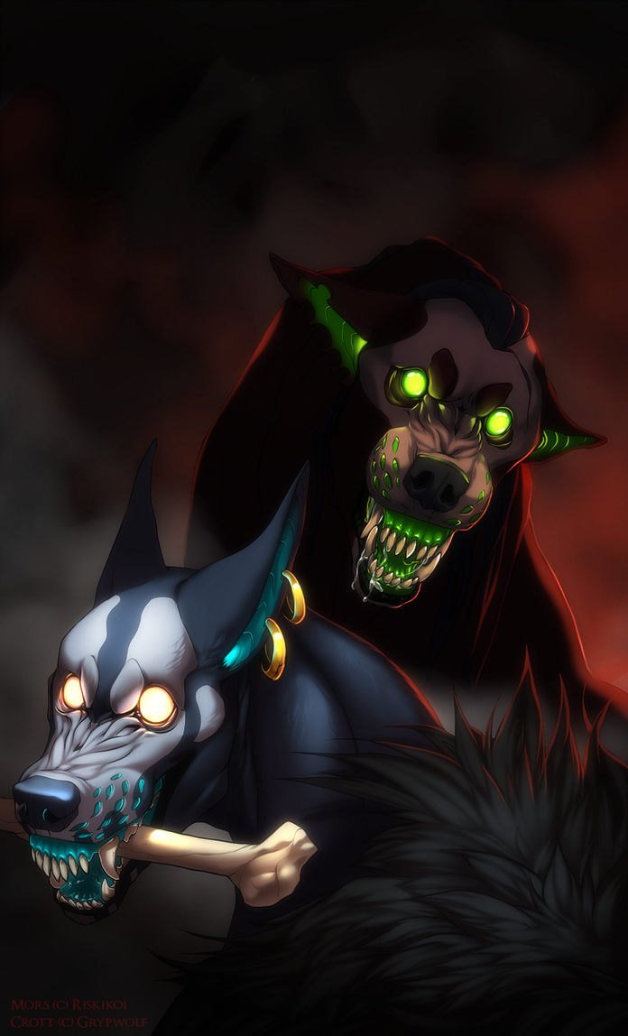 There ain't any treats left by Grypwolf