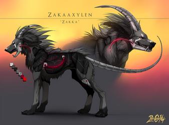 Zakaaxylen by Grypwolf