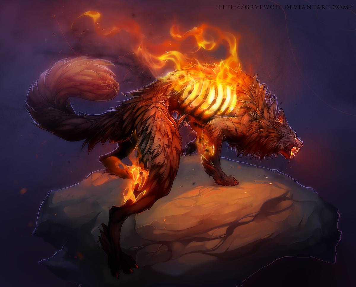 Wildfire by Grypwolf