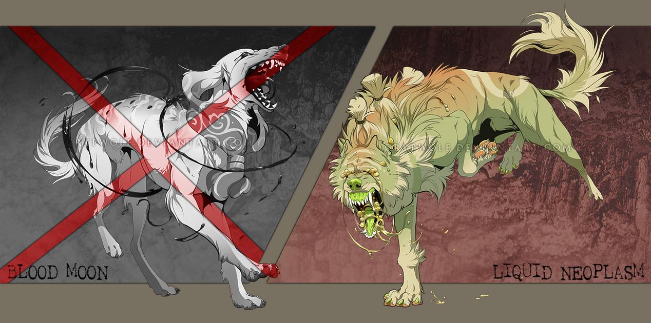 Liquid dog adoptions [CLOSED] by Grypwolf