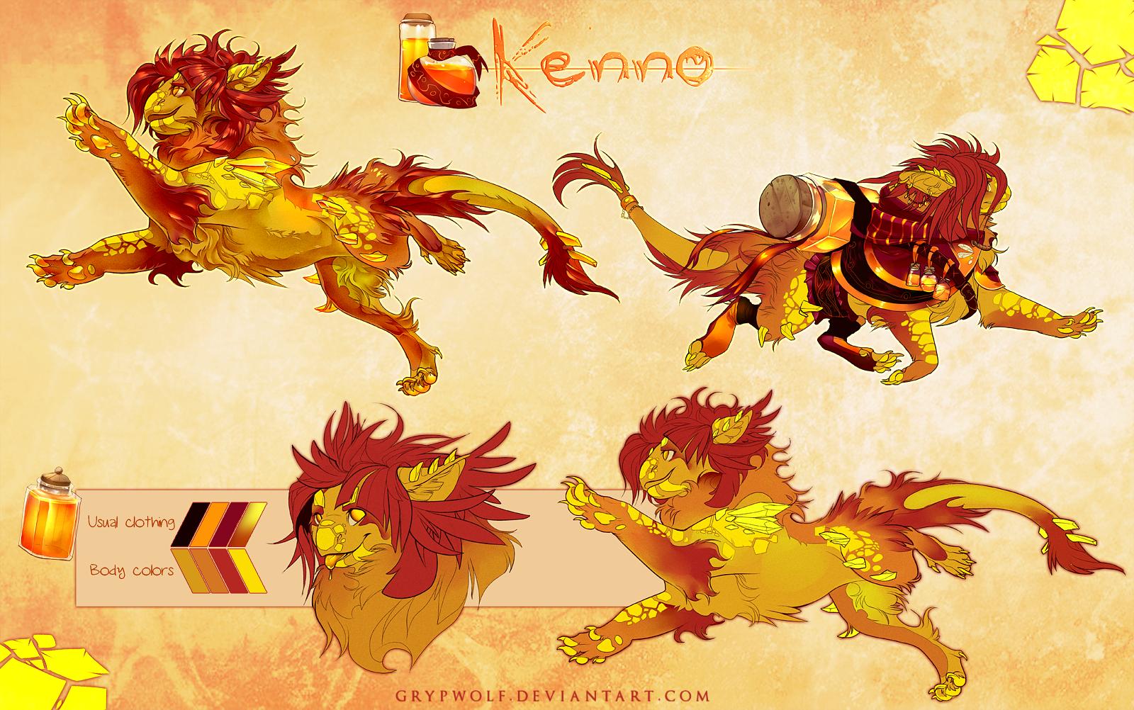 Kenno - Aetherling MYO by Grypwolf on DeviantArt