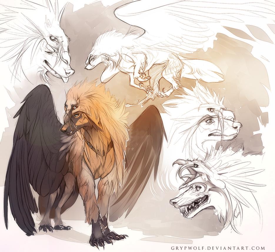 Hiisihound by Grypwolf