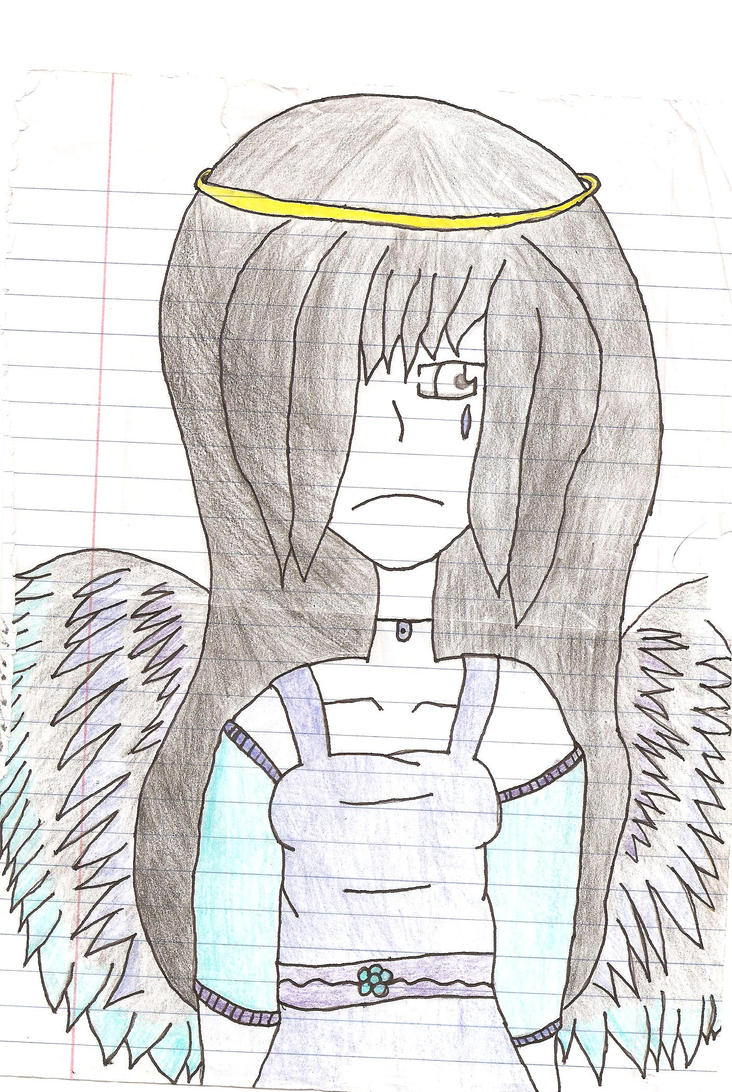 The Angel of Sadness by Happykid44