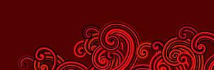 Windows 8 modern-style red spirals by Pasquiindustry