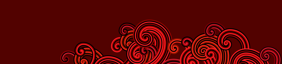 Windows 8 modern-style red spirals by Pasquiindustry