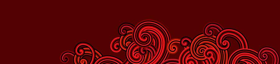 Windows 8 modern-style red spirals