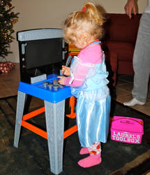 Princess Tool Bench by appleworms