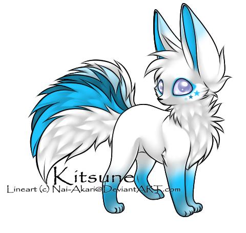 Kitsune Adoptable  [CLOSED] by BiahAdopts