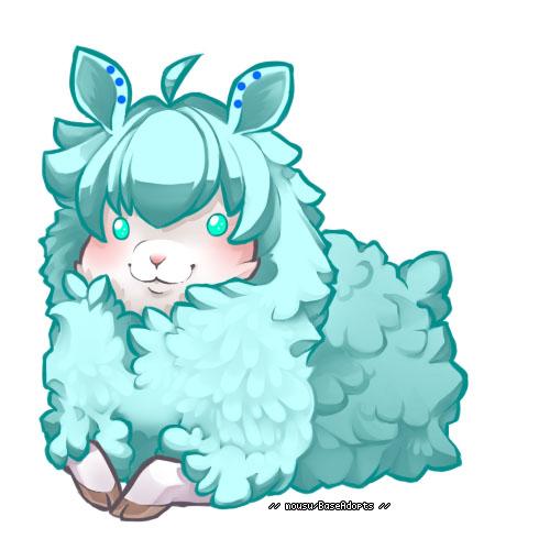 Fluffy Sheep Adoptable ~ 2 [CLOSED] by BiahAdopts