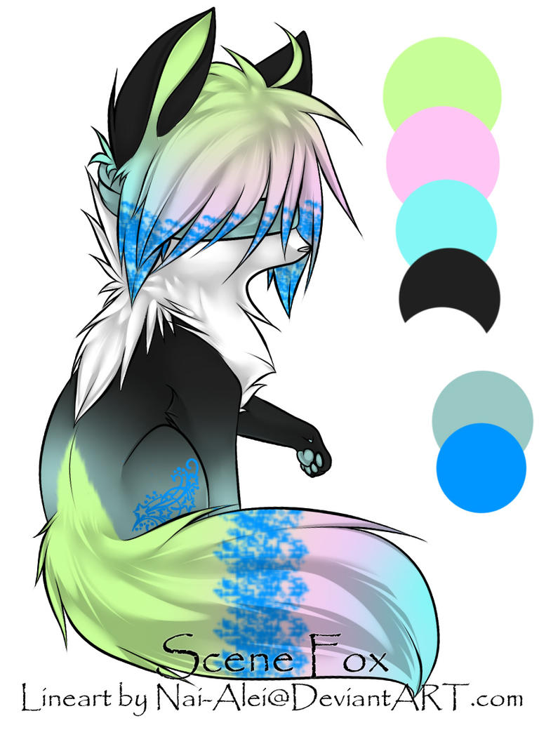 Blind Scene Fox Adoptable ~ 22 :.:Closed:.: by BiahAdopts