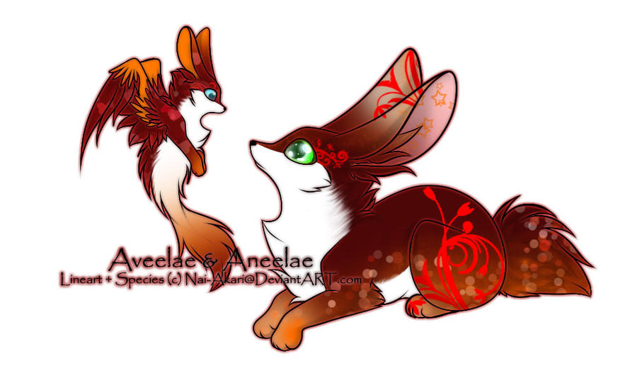 Aveelae and Aneelae Adoptable ~ 5 by BiahAdopts