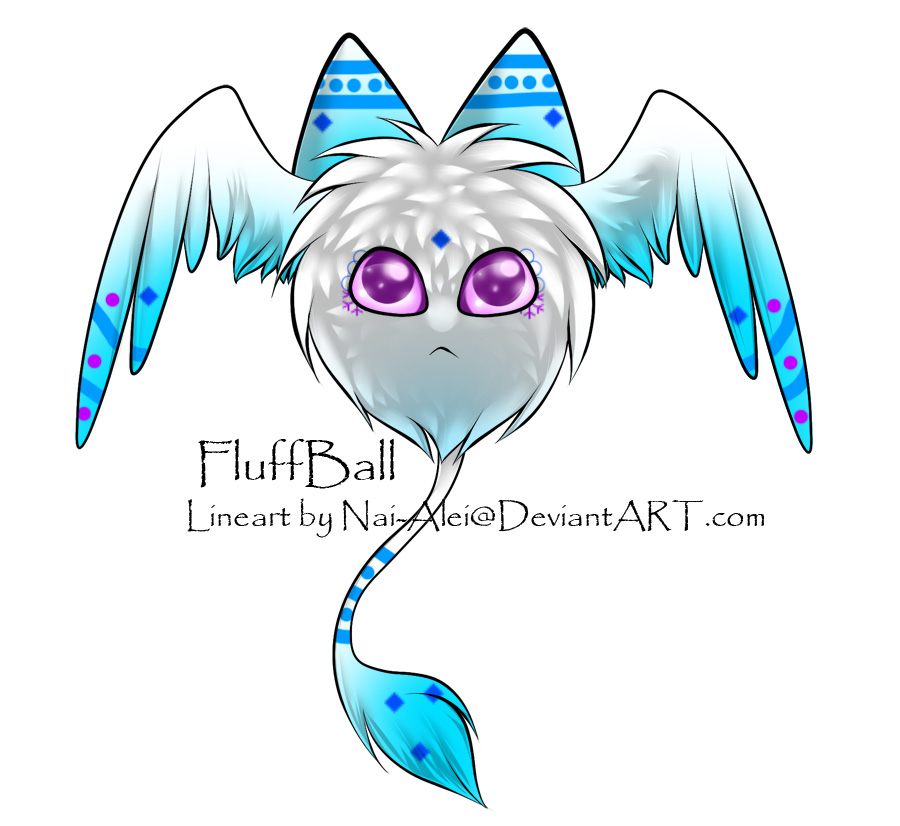 FluffBall Adoptable ~ 4 by BiahAdopts